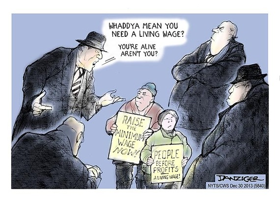 """living a minimum wage lifestyle The child poverty action group (cpag) called for an increase in the  government's """"national living wage"""" to allow families to have an."""
