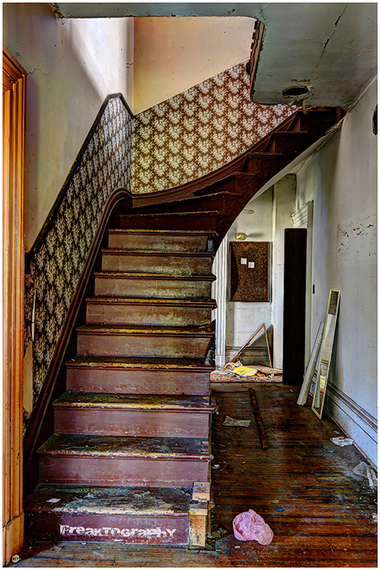 The Forgotten Staircases Of Abandoned Buildings Photos