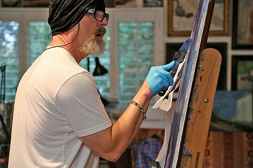 Sal Buscema Oil Paintings