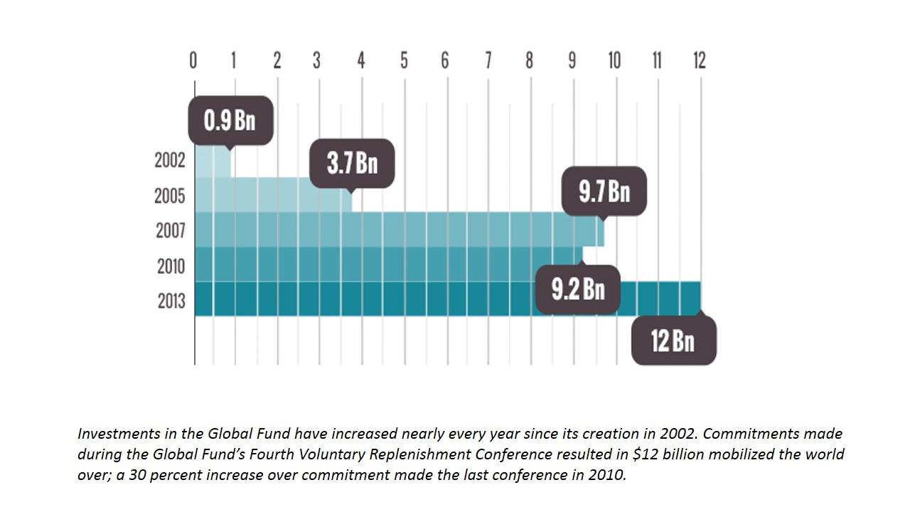 Investments in the Global Fund