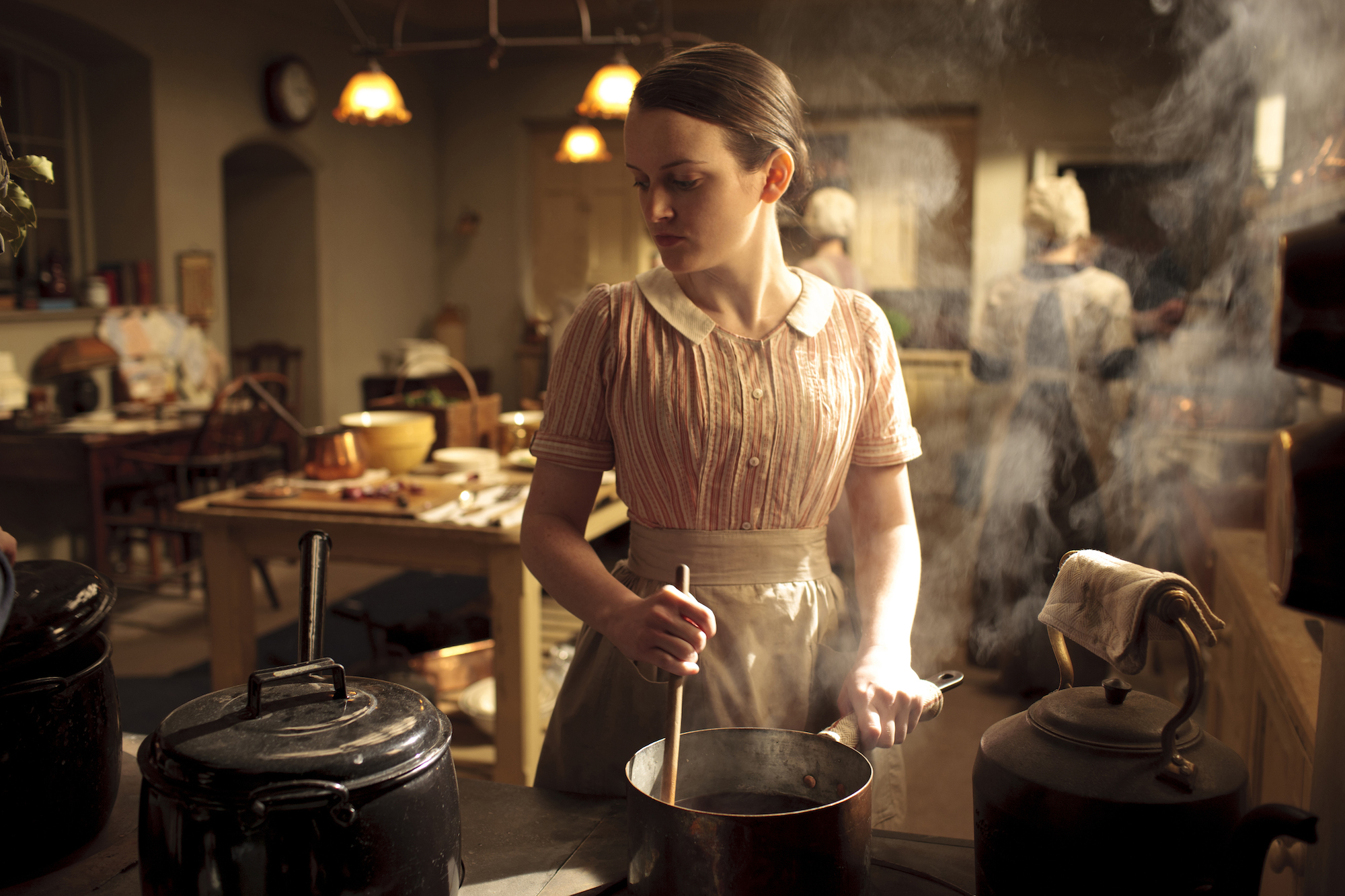 Sharon Small Downton Abbey How NOT to Throw a Din...