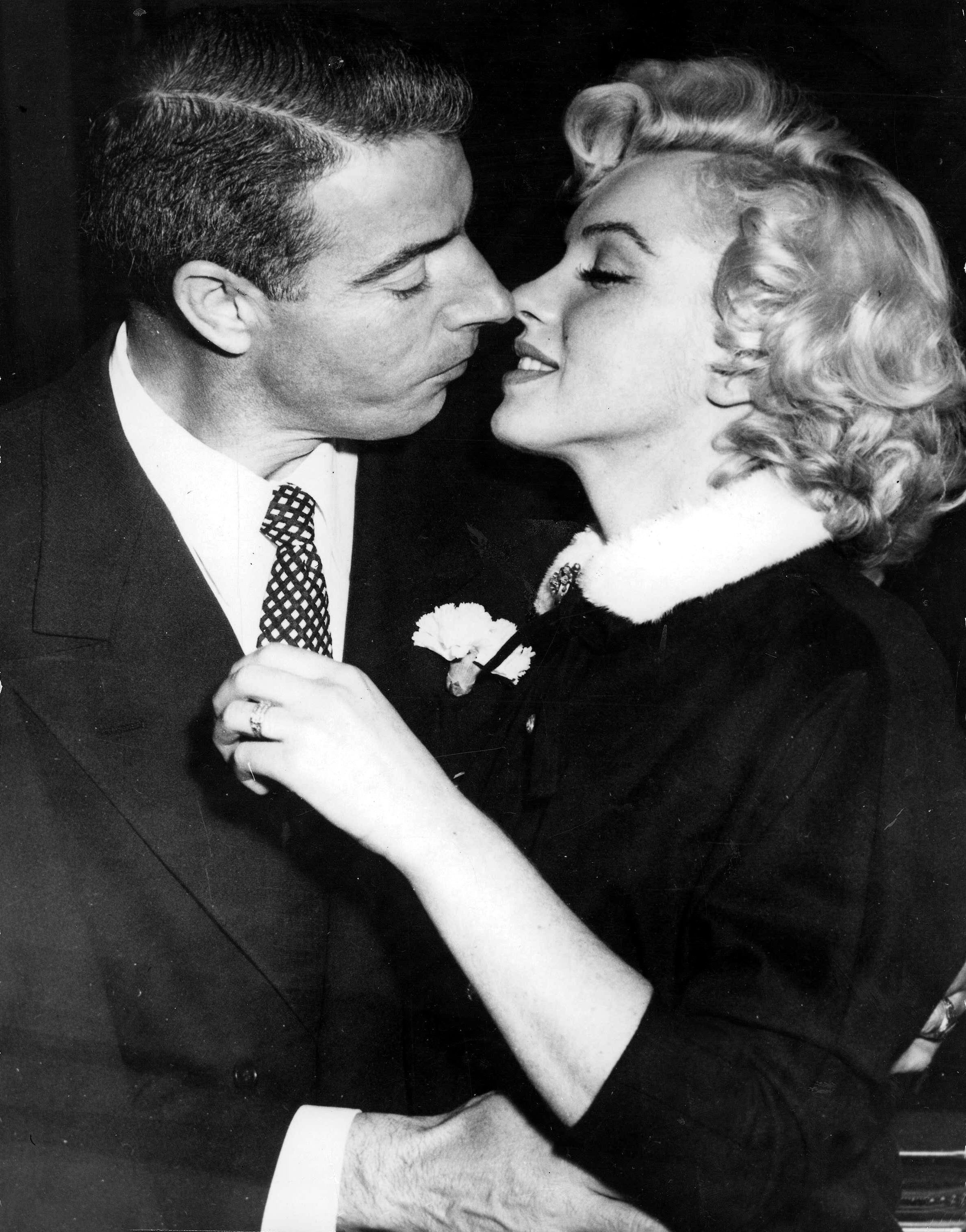 Image result for joe dimaggio and marilyn monroe marriage