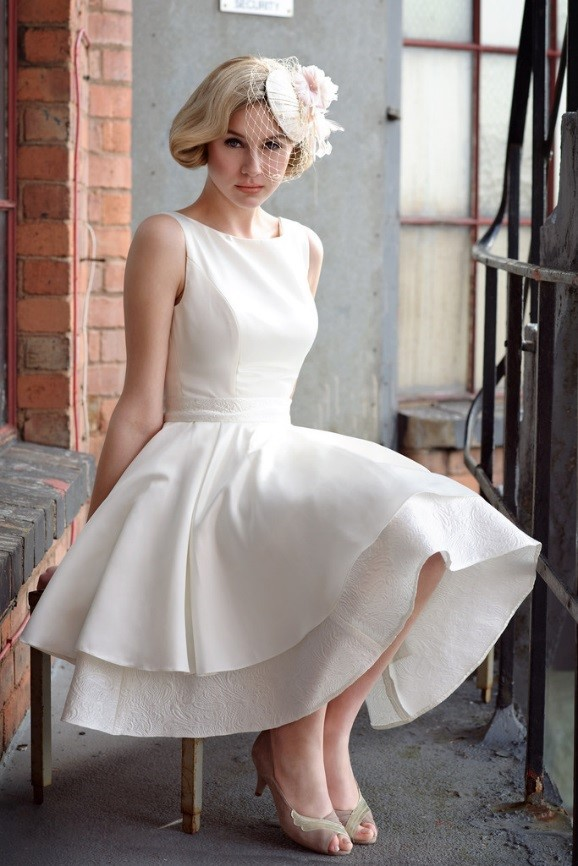 The rise of the short wedding dress and 10 reasons why you for Short wedding dresses uk