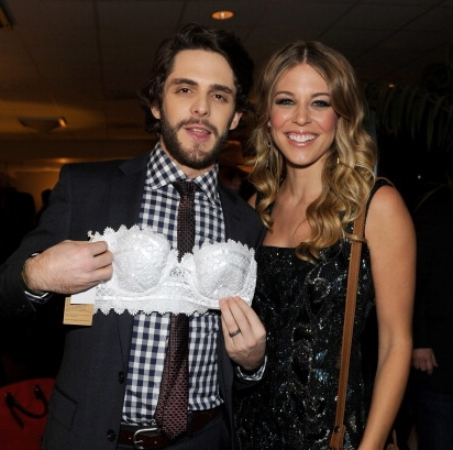 Thomas Rhett with beautiful, Wife Lauren Gregory Akins