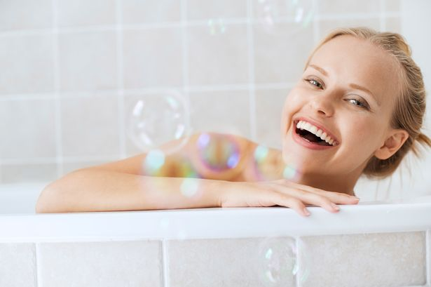 Bath woman Nude Photos 45