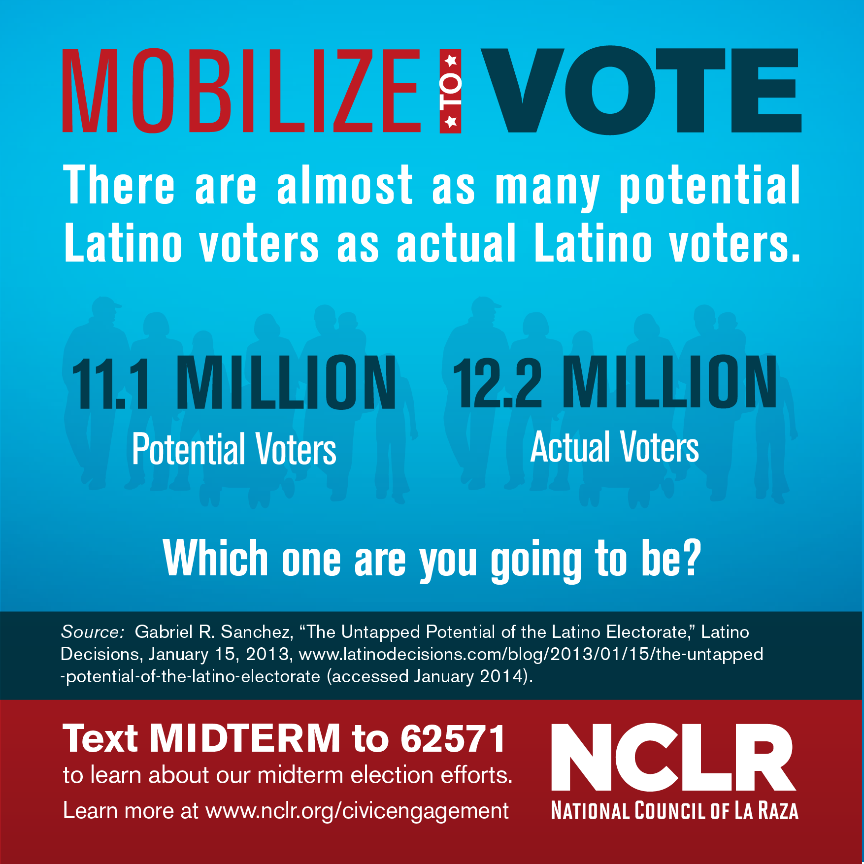 the latino vote Start studying chapter 8 post test learn vocabulary, terms, and more with flashcards, games,  the latino vote is often referred to by analysts as the.