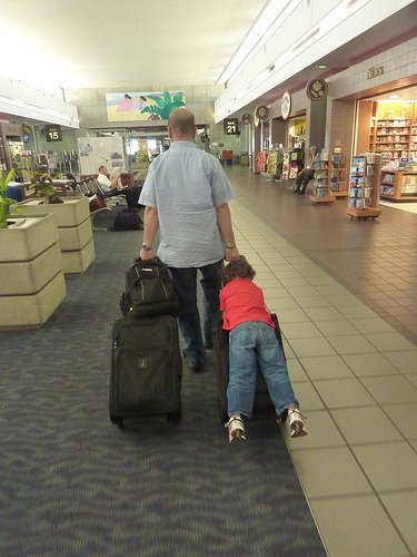Skip Checked Baggage Fees How To Fly Carry On With Kids