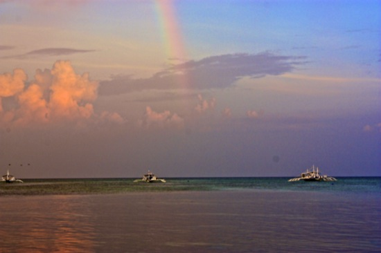 Malapascua Philippines Rainbow