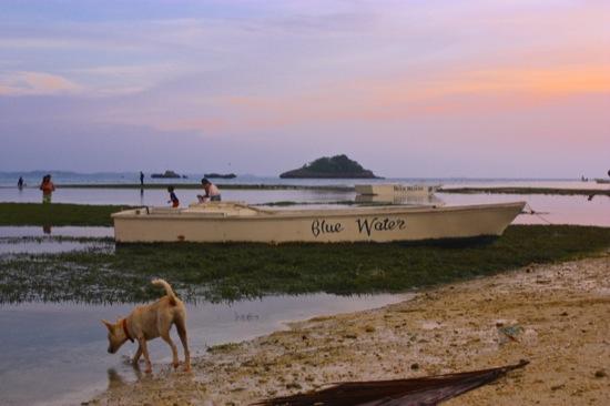 Malapascua at sunset