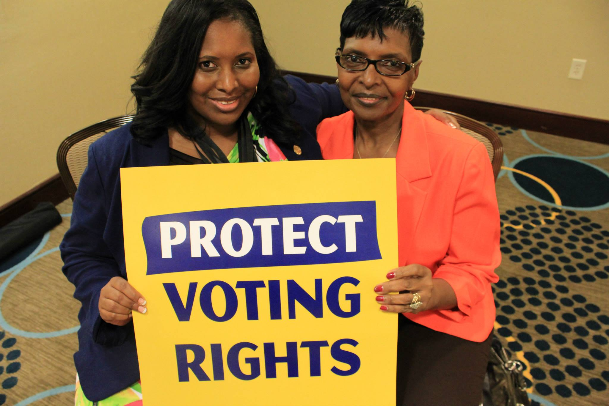 O Naacp Takes Over Polling Station