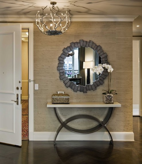 Foyer Mirror Height : What height is right to hang a pendant light
