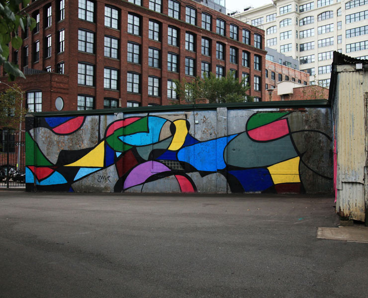 The Power of Color Via Street Art, Graffiti and Murals