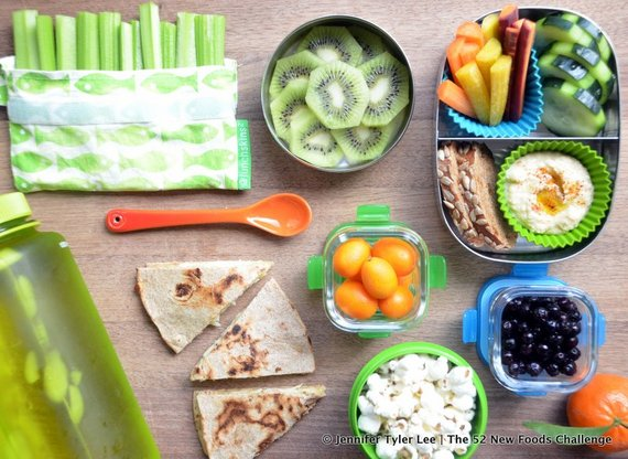 waste free lunch | jennifer tyler lee | the 52 new foods challenge