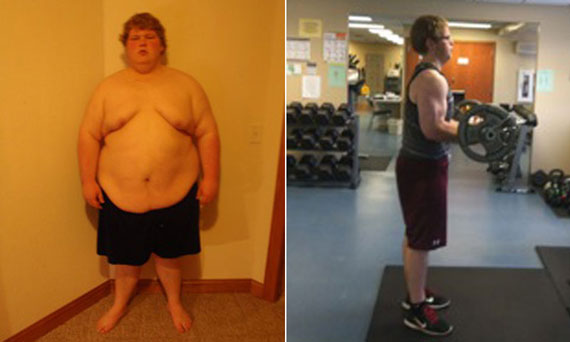 Motivated By His Dad, 22-Year-Old Troy Fox Lost 230 Pounds
