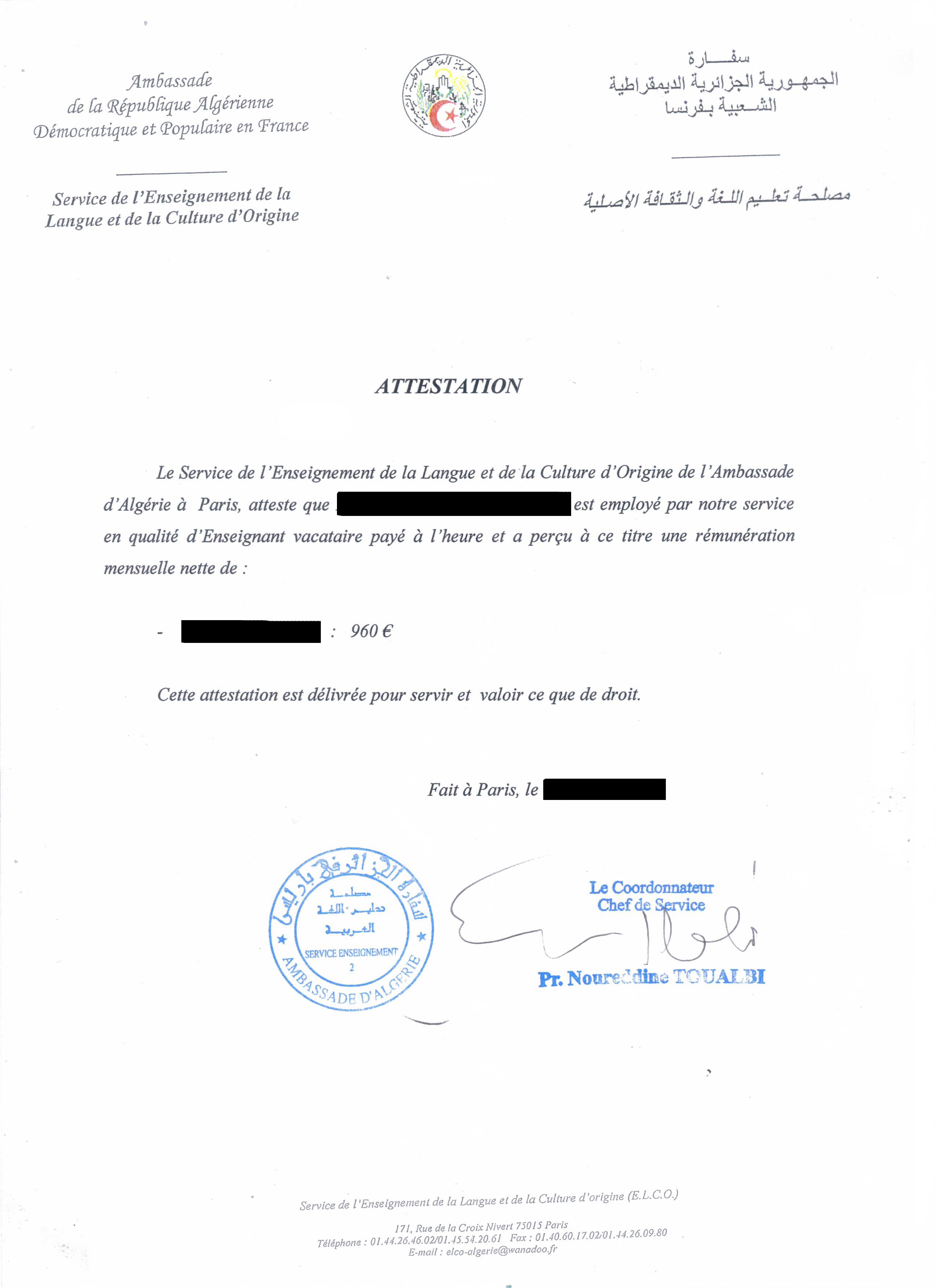 Près de 400 personnes employées illégalement par l'ambassade d