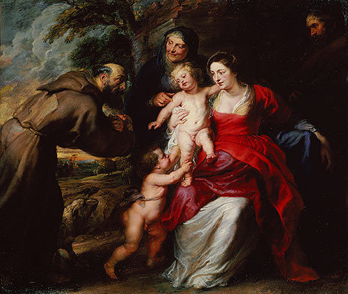2014-02-23-CircumcisionPeterPaulReubinsThe_Holy_Family_with_Saints_Francis_and_Anne_and_the_Infant_Saint_John_the_Baptist_1630sWikimedia.jpg