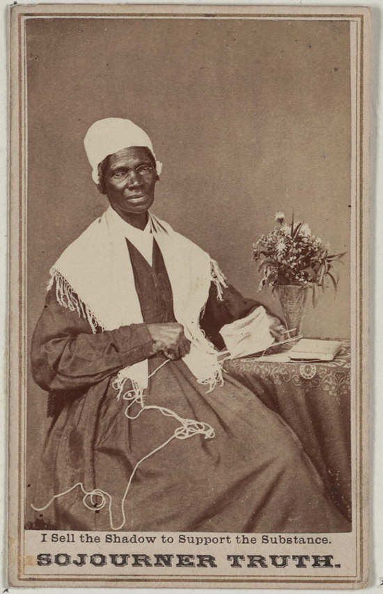 how to draw sojourner truth