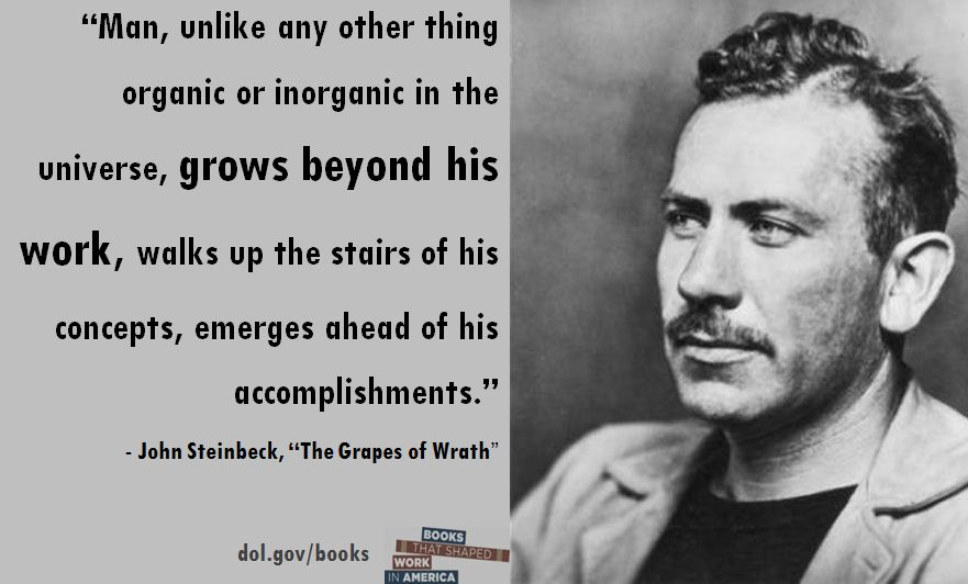 great depression by john steinbeck essay