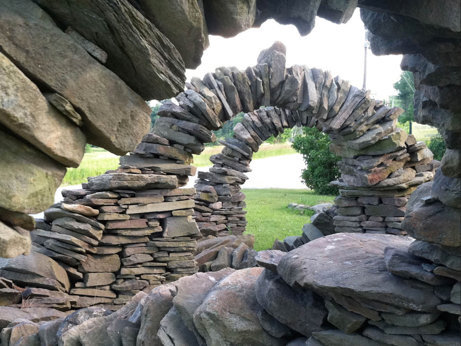 Pin de Cherie Bose en DIY crafts and gifts | Arte de ... |Stone Artwork