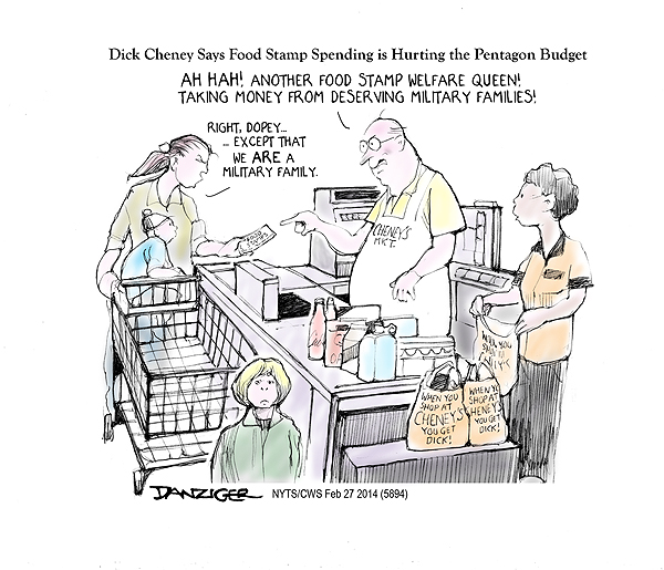 Cheney And Food Stamps Huffpost