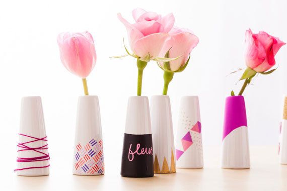12 gorgeous diy vases you can actually make huffpost solutioingenieria Choice Image