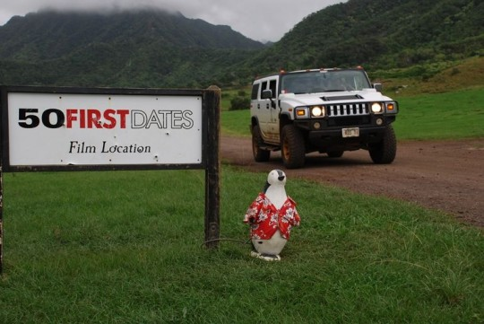 Where was 50 first dates filmed in Australia