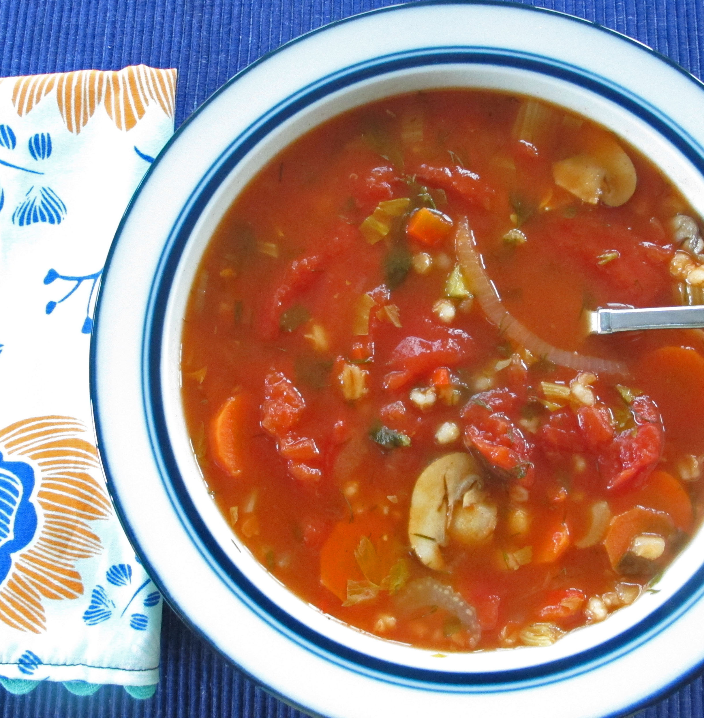 Mushroom Barley Soup | The Huffington Post