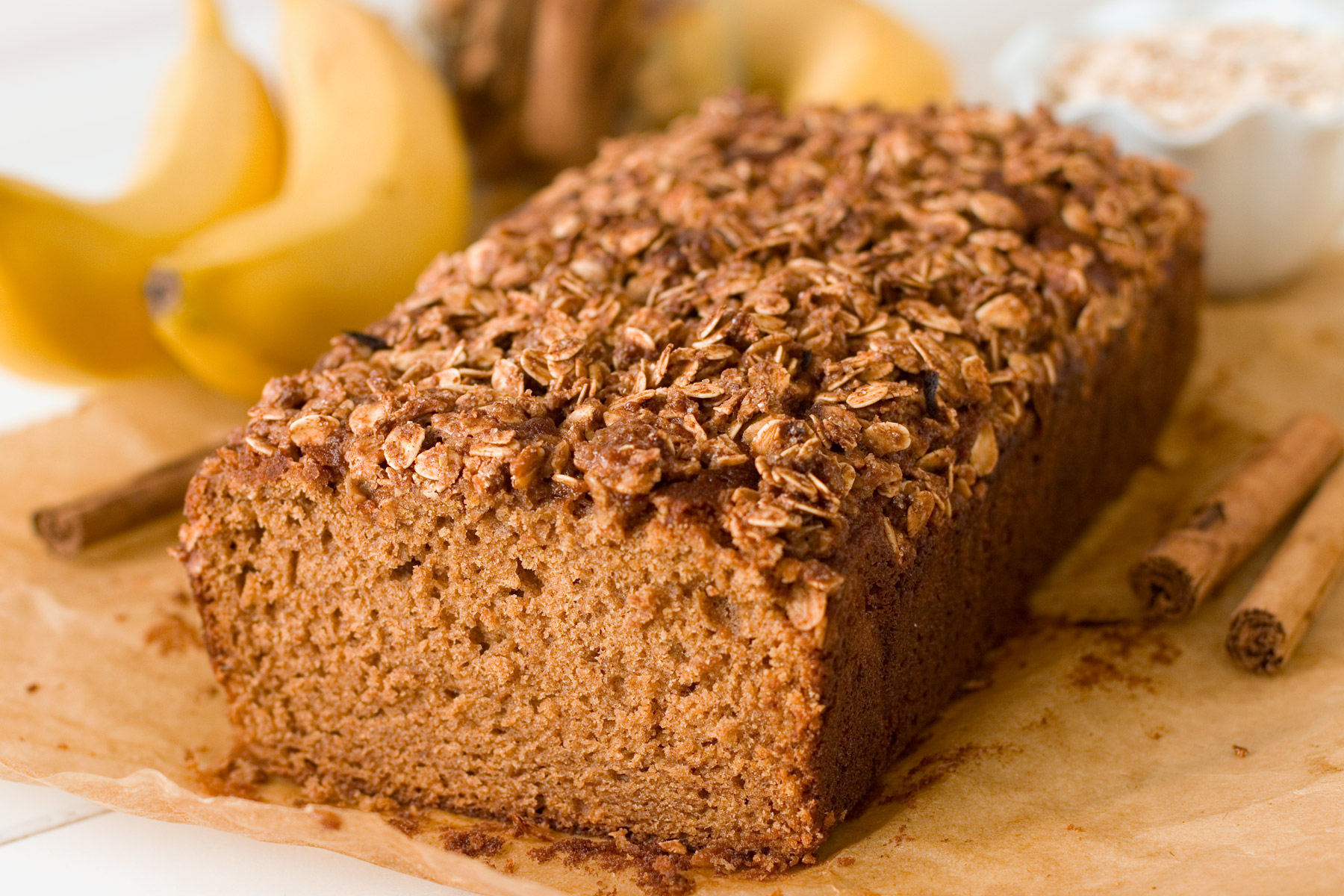 This healthier gluten free banana bread has the most amazing texture ...