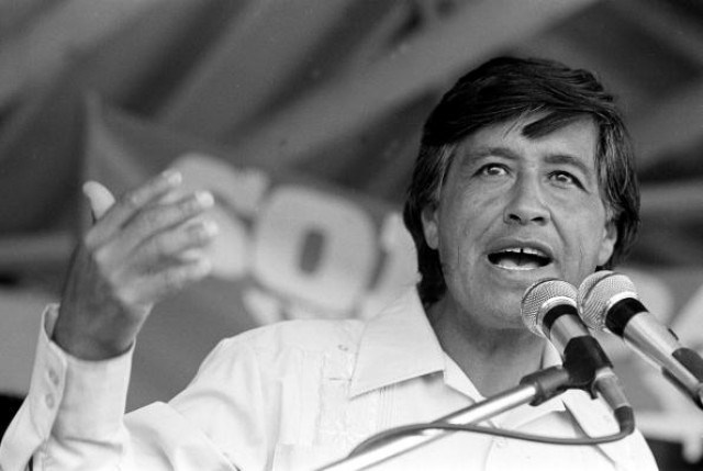 Cesar Chavez, Border Security