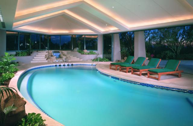 April pools 8 amazing indoor pools that could be yours huffpost - Indoor pool in homes ...