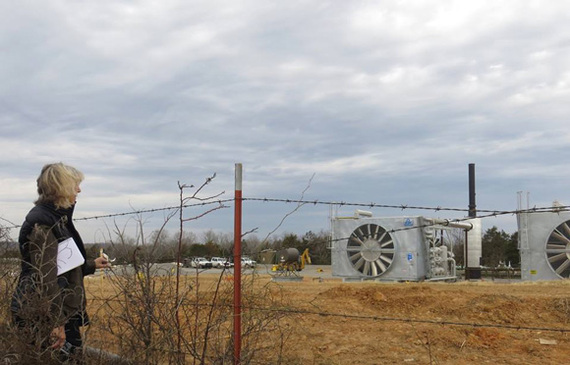 Foul Air in the Frack Zone: Touring the Fayetteville Shale, Arkansas