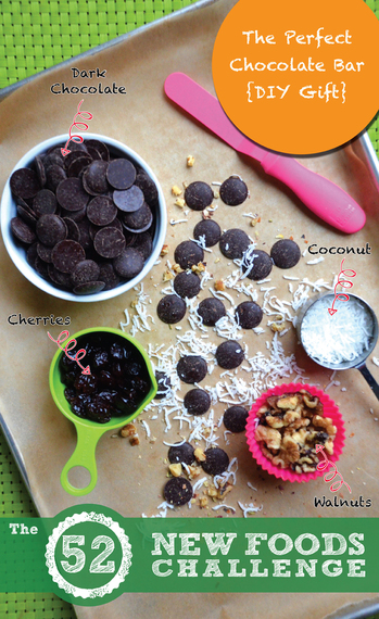 DIY Dark Chocolate Bark Recipe | The 52 New Foods Challenge