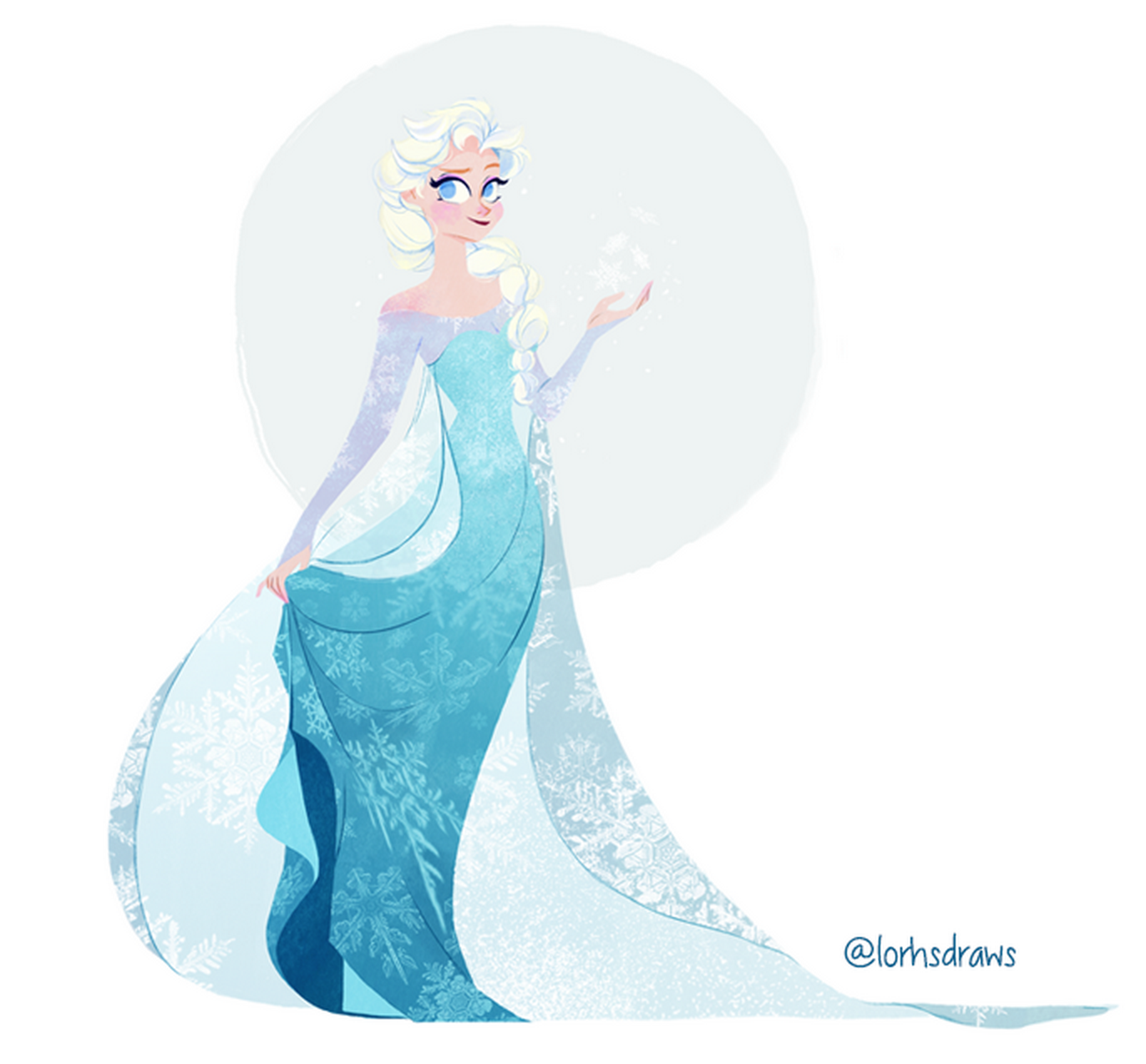 92 Artists Drew Our Favorite Female Disney and Pixar Characters ...