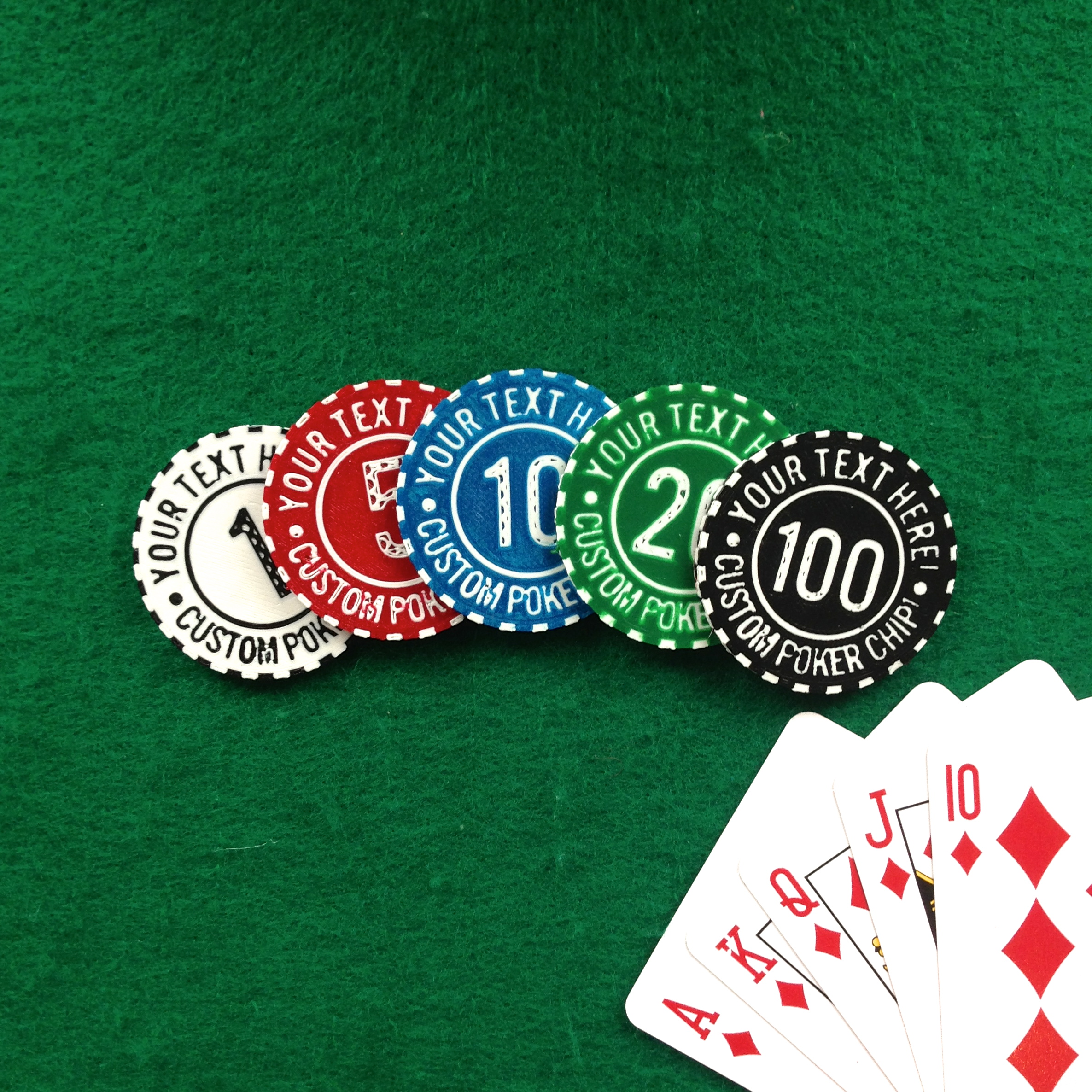 Coolest Poker Chips