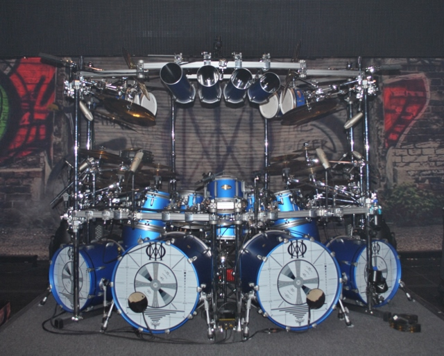 Drum Set Wallpaper Mike Mangini Drum Set