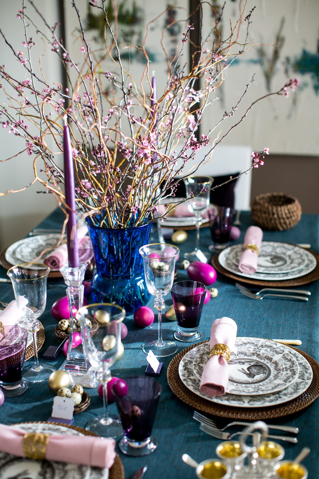 Elegant Easter Table Decor Huffpost