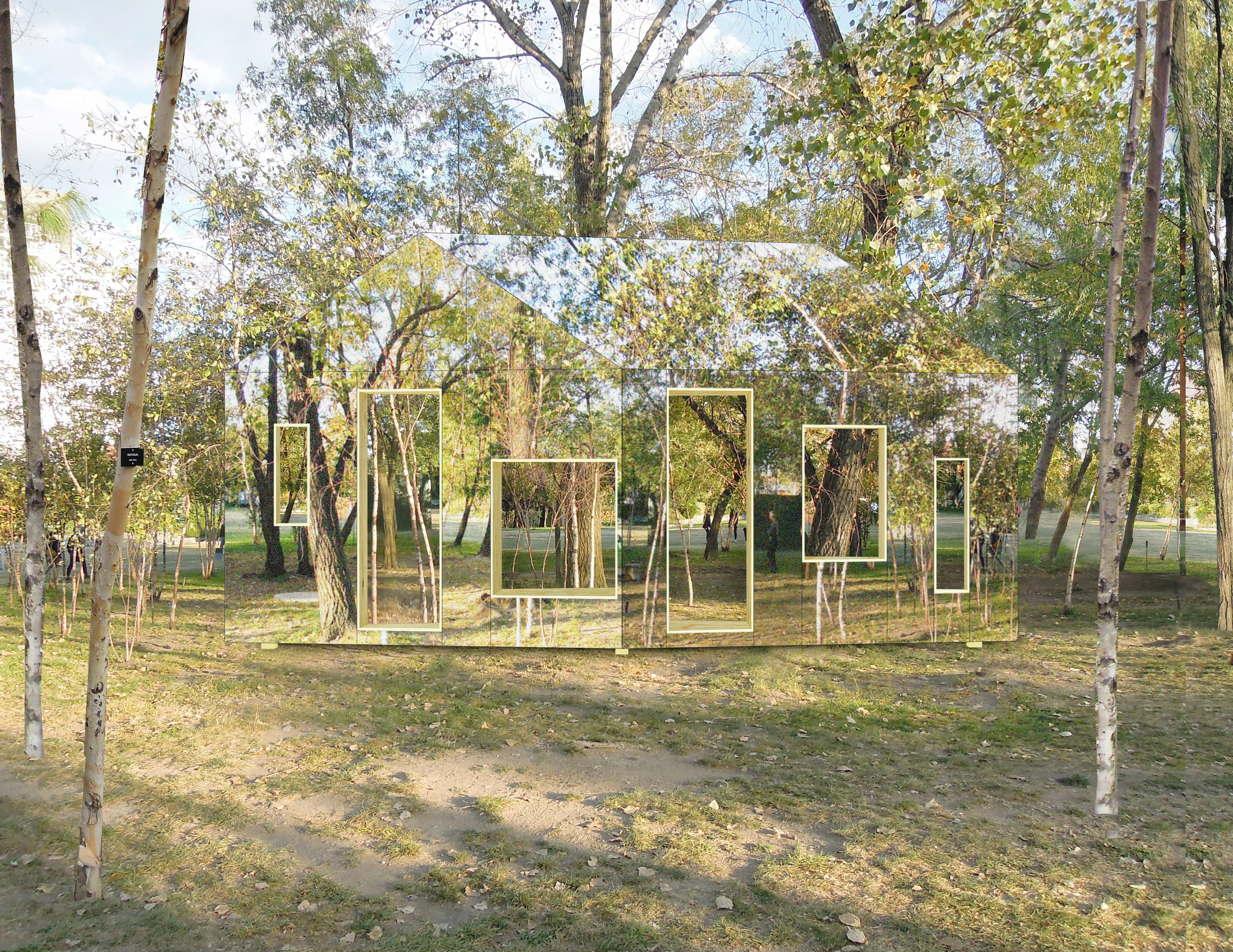 Here 39 s how you make a barn invisible huffpost for Miroir bois de grange