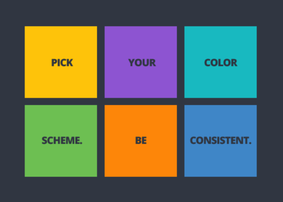 Social Media Design - Pick a color scheme