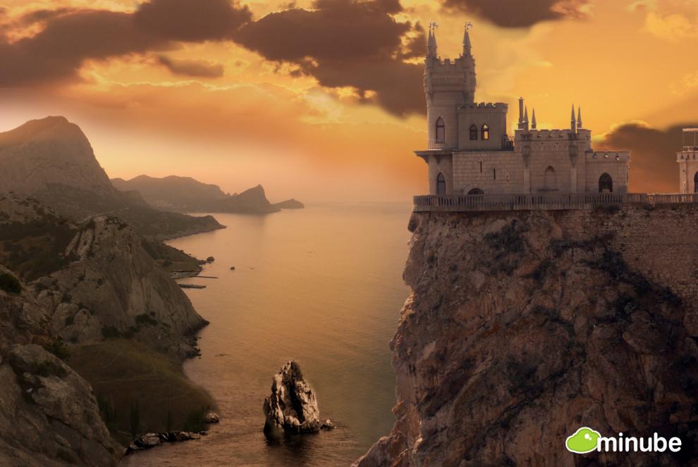 The castle essay global village