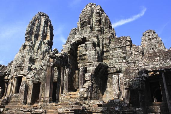Ankor Thom Cambodia Angkor Wat
