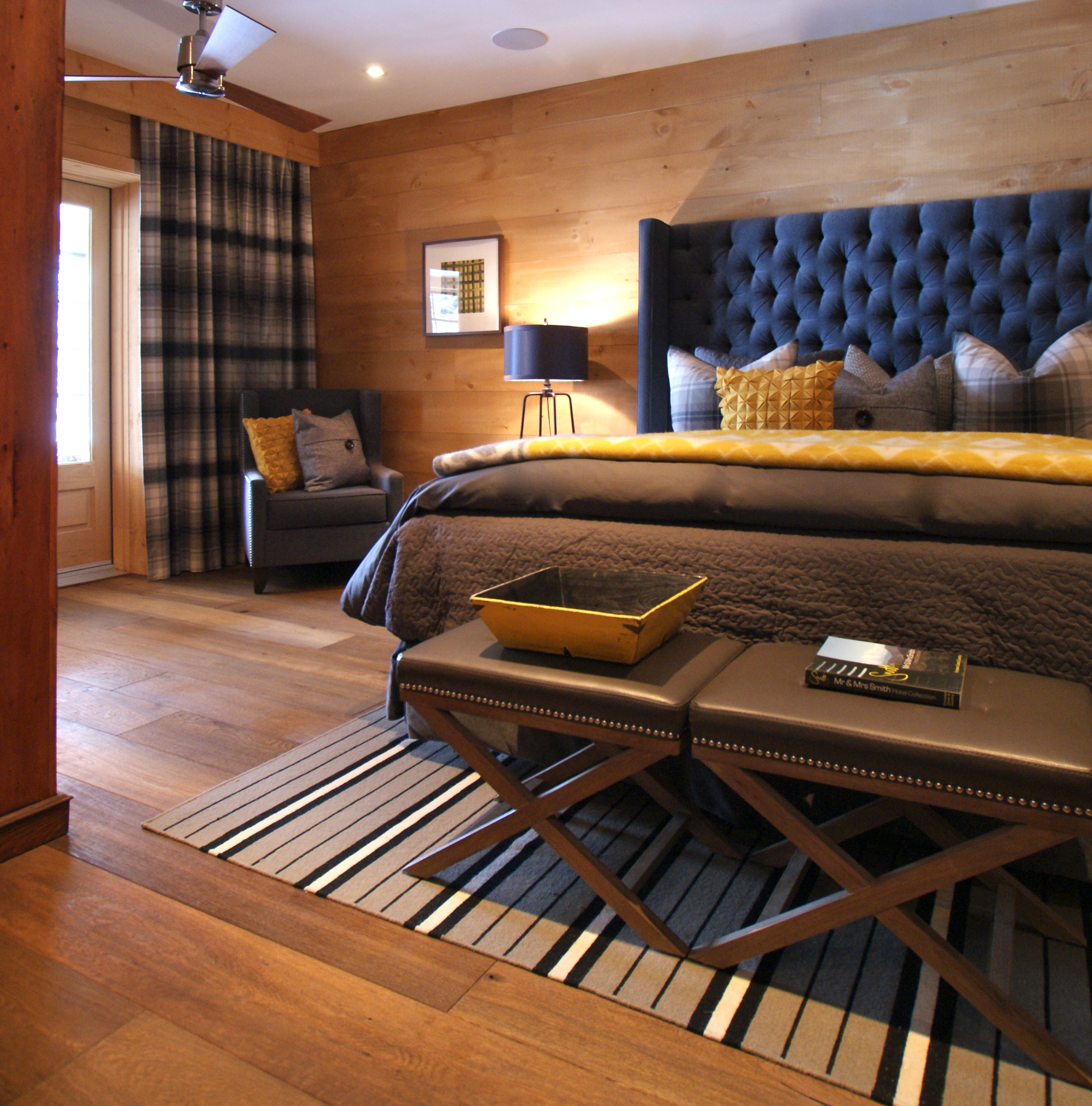 Great Small Living Room Designs By Colin Justin: The Basement Bedroom Reinvented