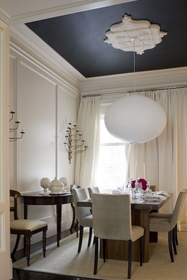Looking up design ideas for your ceiling for Dining room wall molding ideas