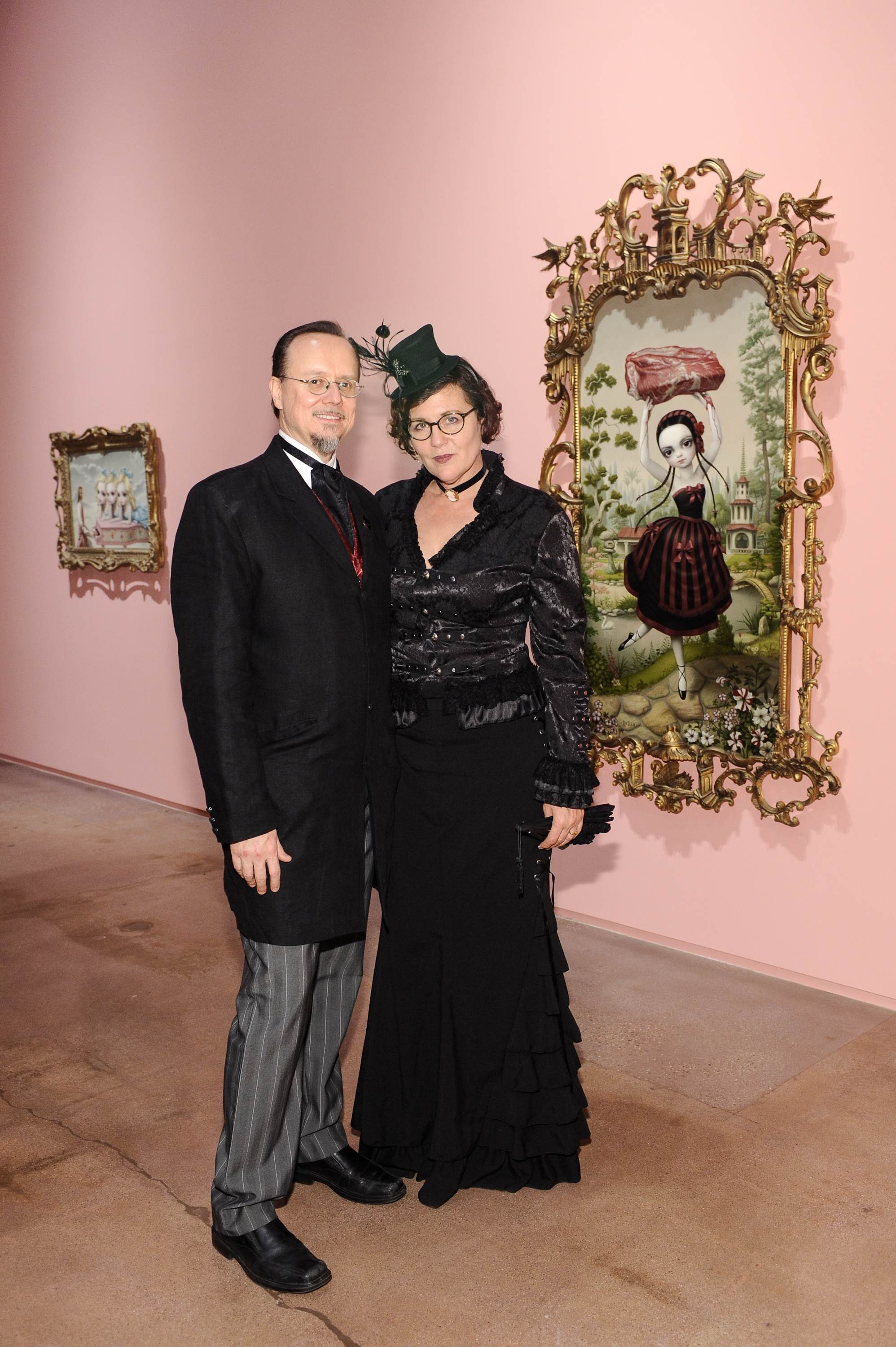 """mark ryden contemporary artist The new contemporary art mark ryden exhibits new paintings 2 thoughts on """" mark ryden exhibits new paintings and bronze sculpture in """"dodecahedron."""
