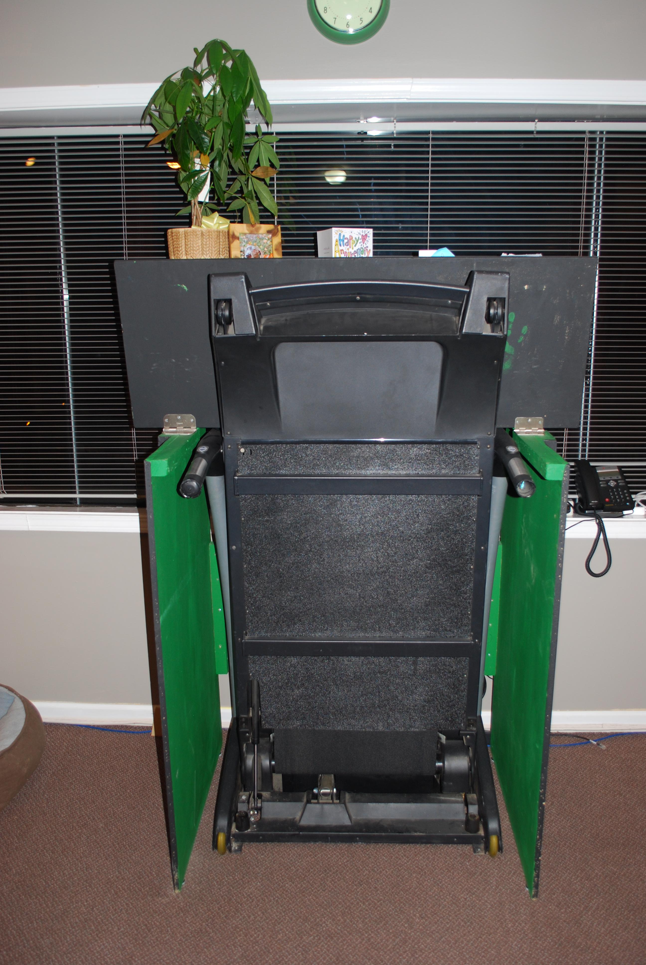 Building A Desk Treadmill A Love Story Huffpost