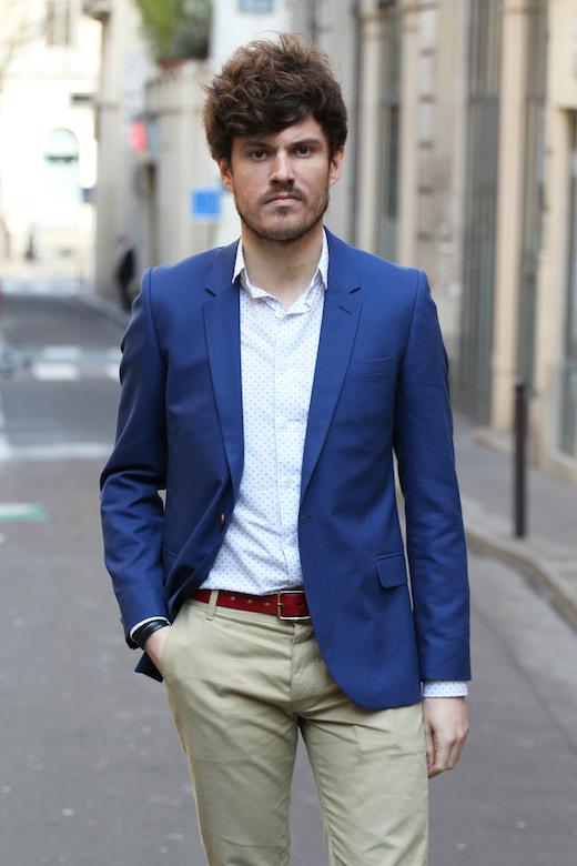 Comment choisir et porter un blazer d 39 t - Comment porter une chemise en jean homme ...