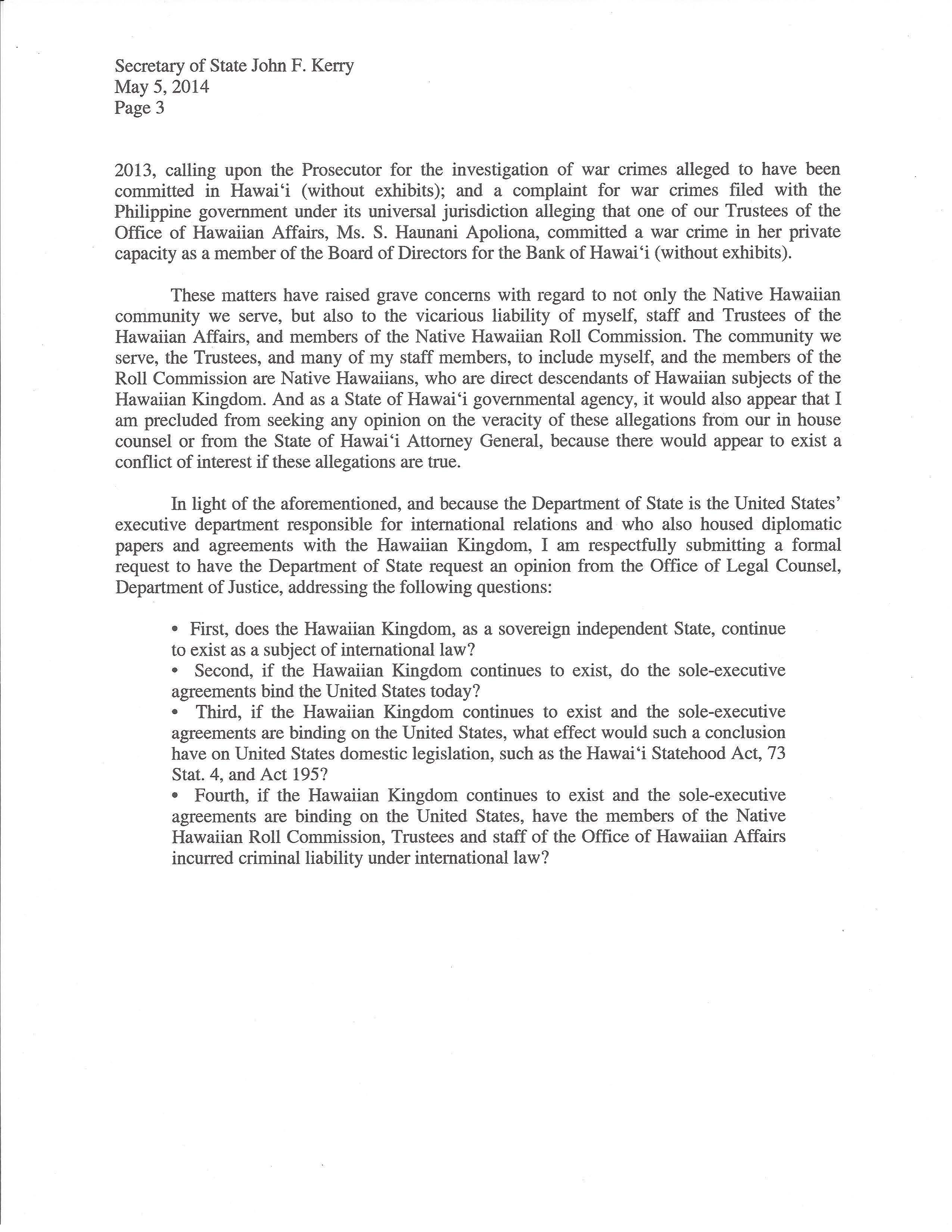 Business Letter Format Page 2