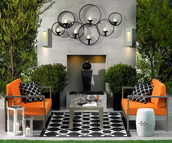 Set The Mood For Summer Outdoor Entertaining With A Welcoming Seating  Arrangement