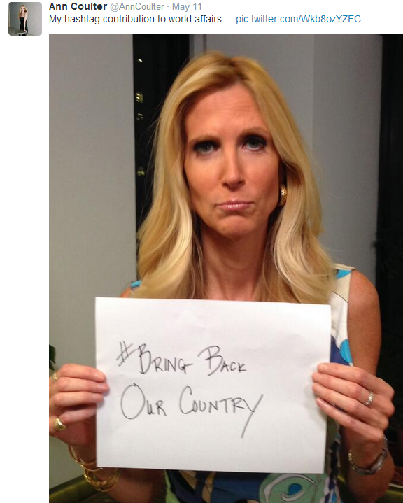Is ann coulter a tranny