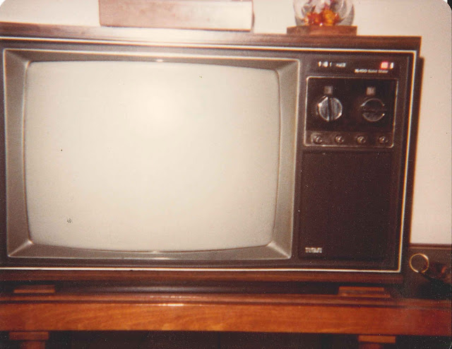 Color television memories of your first set experience for Floor model tv