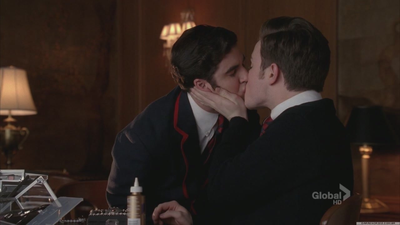 Two Men Kissing 2